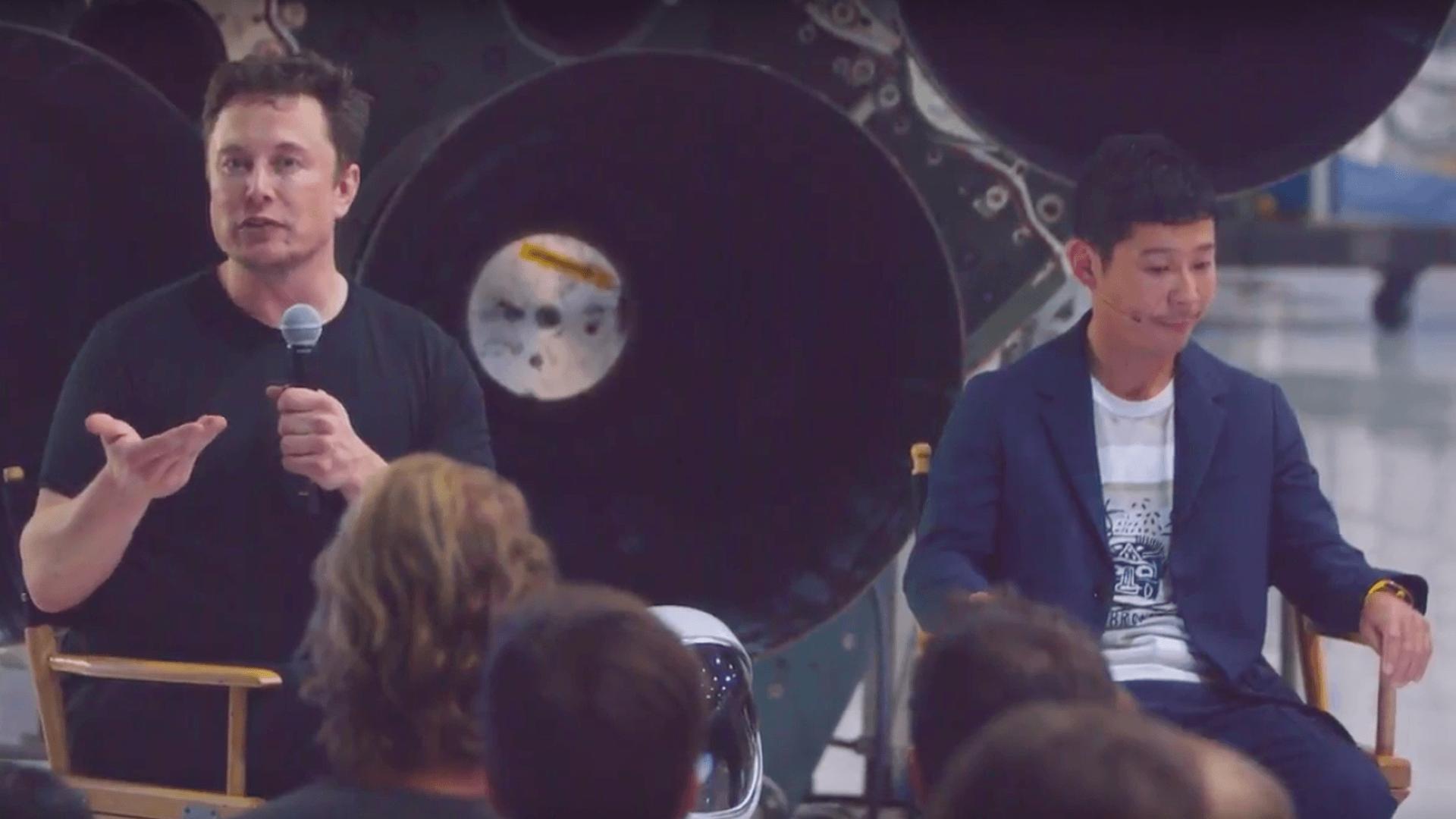 Już wiemy, kto odbędzie lot dookoła Księżyca ze SpaceX 27