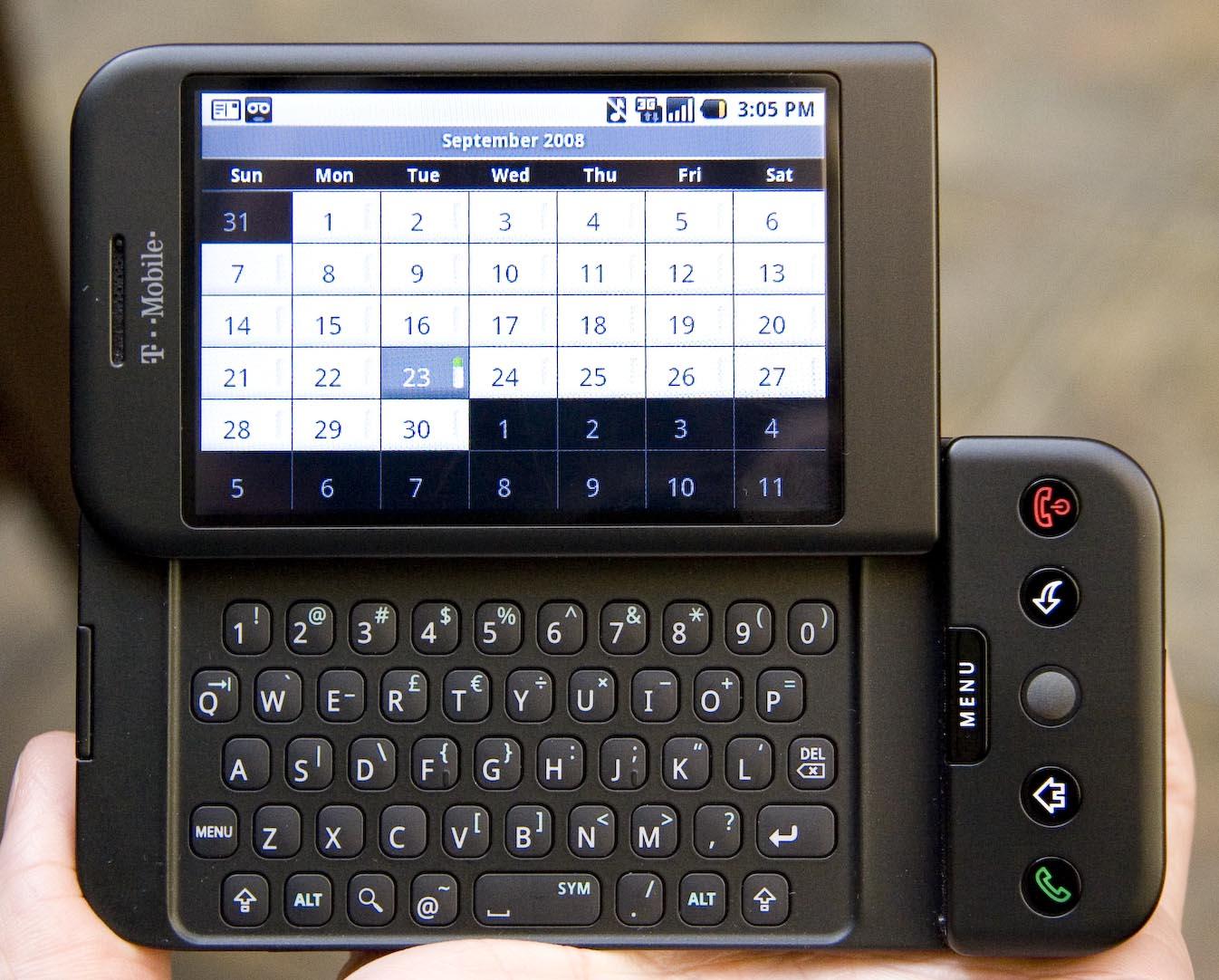 Tabletowo.pl Pamiętacie model Era G1? Pierwszy smartfon z Androidem ma już 10 lat Android Ciekawostki Google HTC