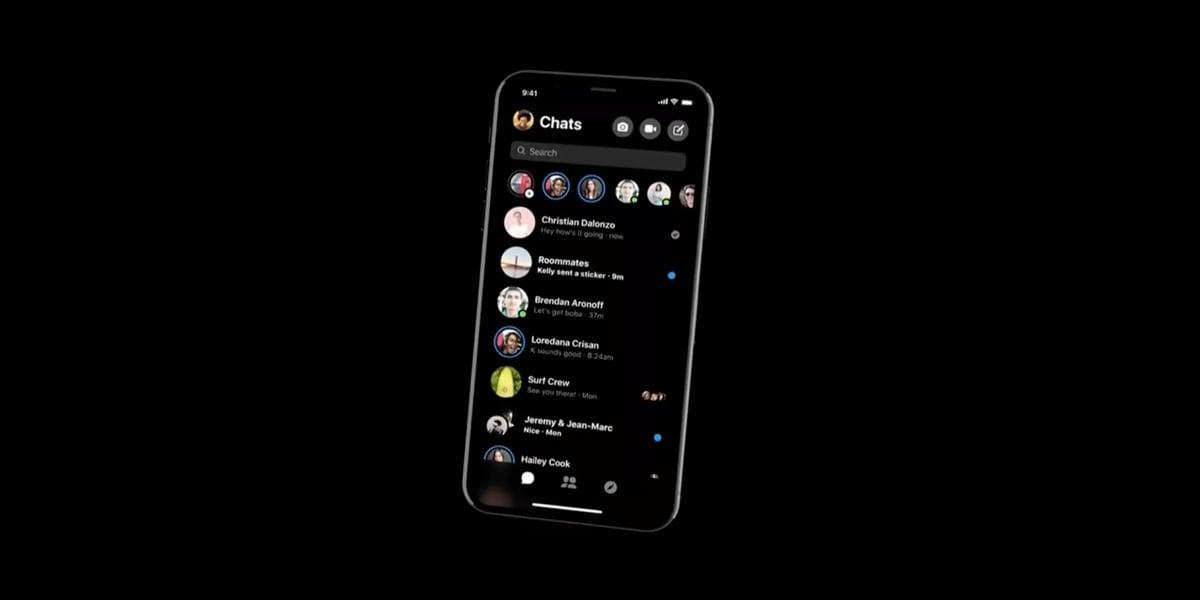 Messenger z funkcją Dark Mode już dostępny! 19