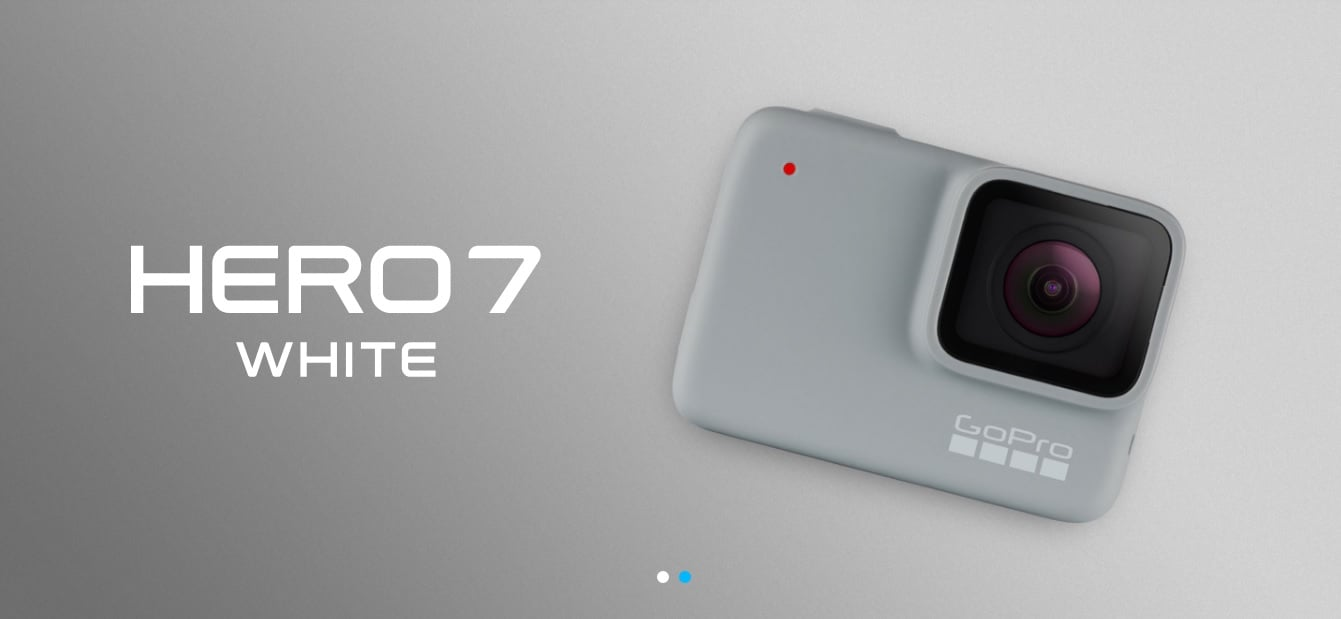 Tabletowo.pl GoPro zaprezentował trzy nowe kamerki: HERO7 White, HERO7 Silver i HERO7 Black [aktualizacja] Nowości