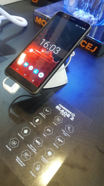 Tabletowo.pl HAMMER Blade 2 Pro zaprezentowany na IFA 2018. To najmocniejszy smartfon w portfolio producenta Android IFA 2018 myPhone Nowości Smartfony