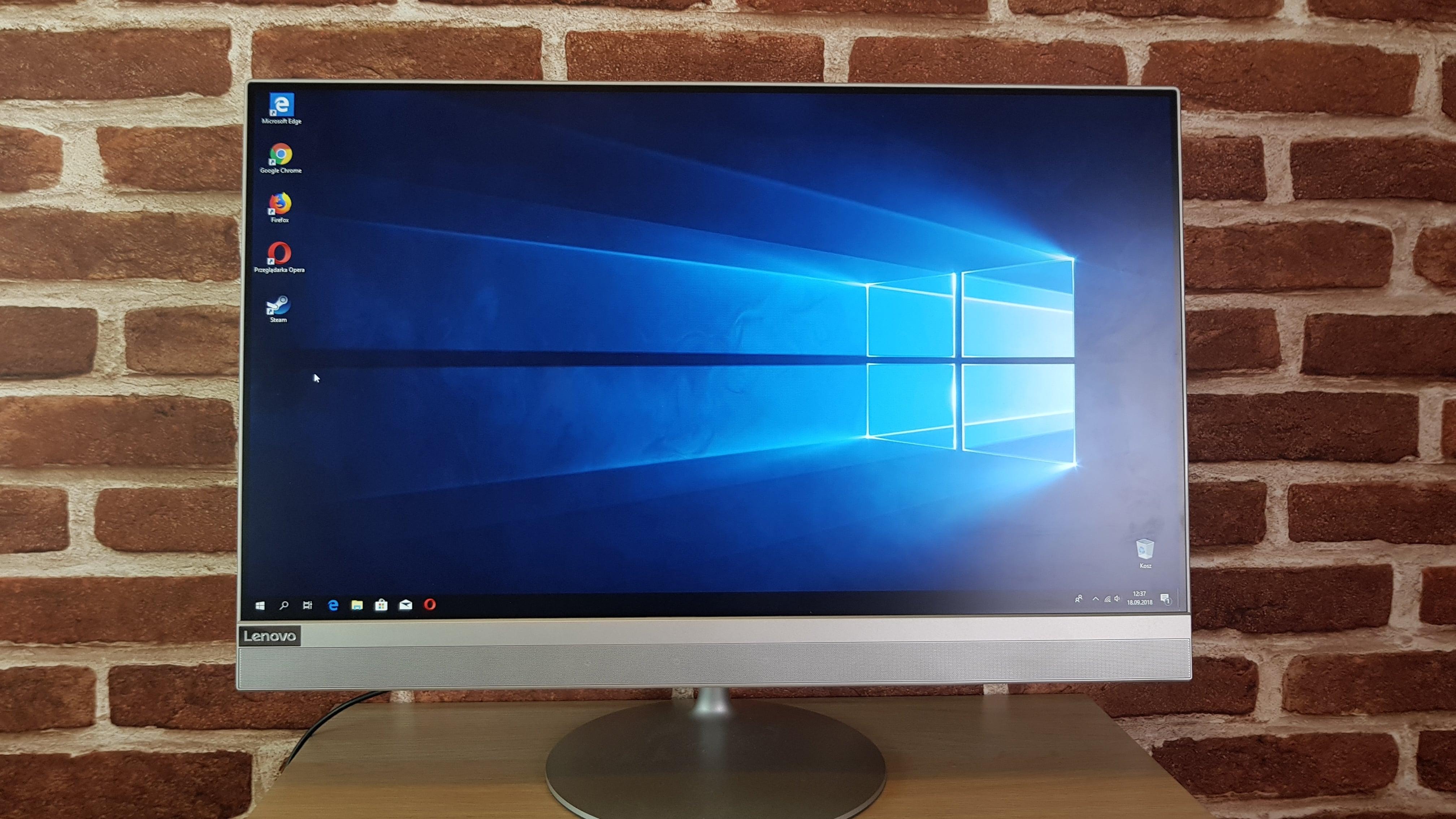 Tabletowo.pl Pan Elegant, czyli Lenovo AIO 520. Czy warto? (recenzja) Lenovo Recenzje Windows