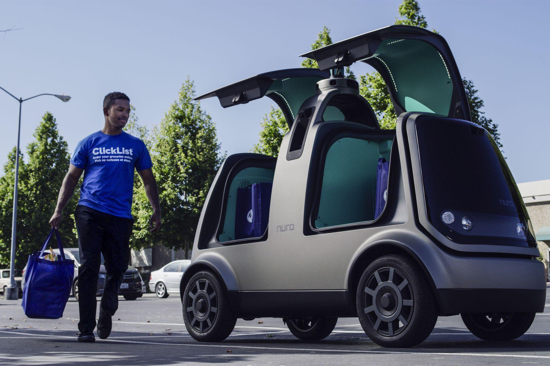 Startup Nuro prezentuje raport bezpieczeństwa dotyczący autonomicznego pojazdu dostawczego Nuro R1 14