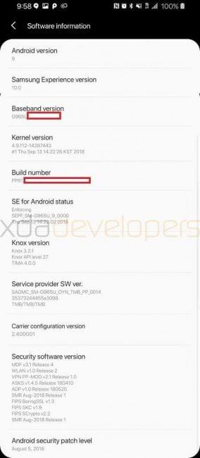 Tabletowo.pl Tak wygląda nakładka Samsung Experience 10 na Galaxy S9+ z Androidem Pie. Ewolucja czy rewolucja? Android Plotki / Przecieki Samsung Smartfony