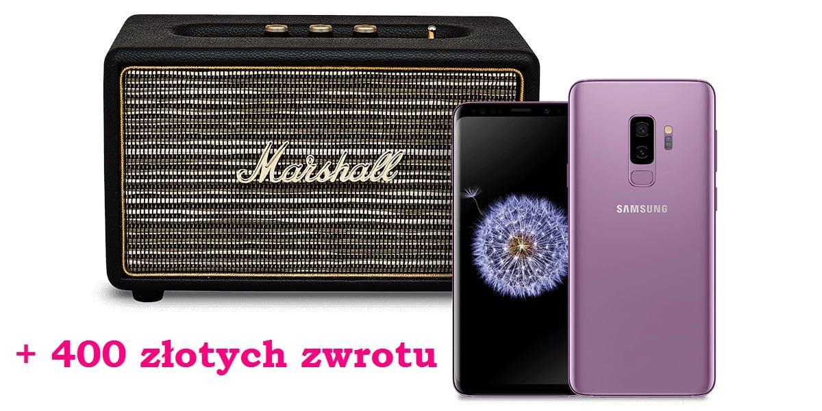 Tabletowo.pl Galaxy S9 i Galaxy S9+ kilkaset złotych taniej, a do tego głośnik Marshall i 400 zł więcej przy odkupie starego smartfona Android Promocje Samsung Smartfony
