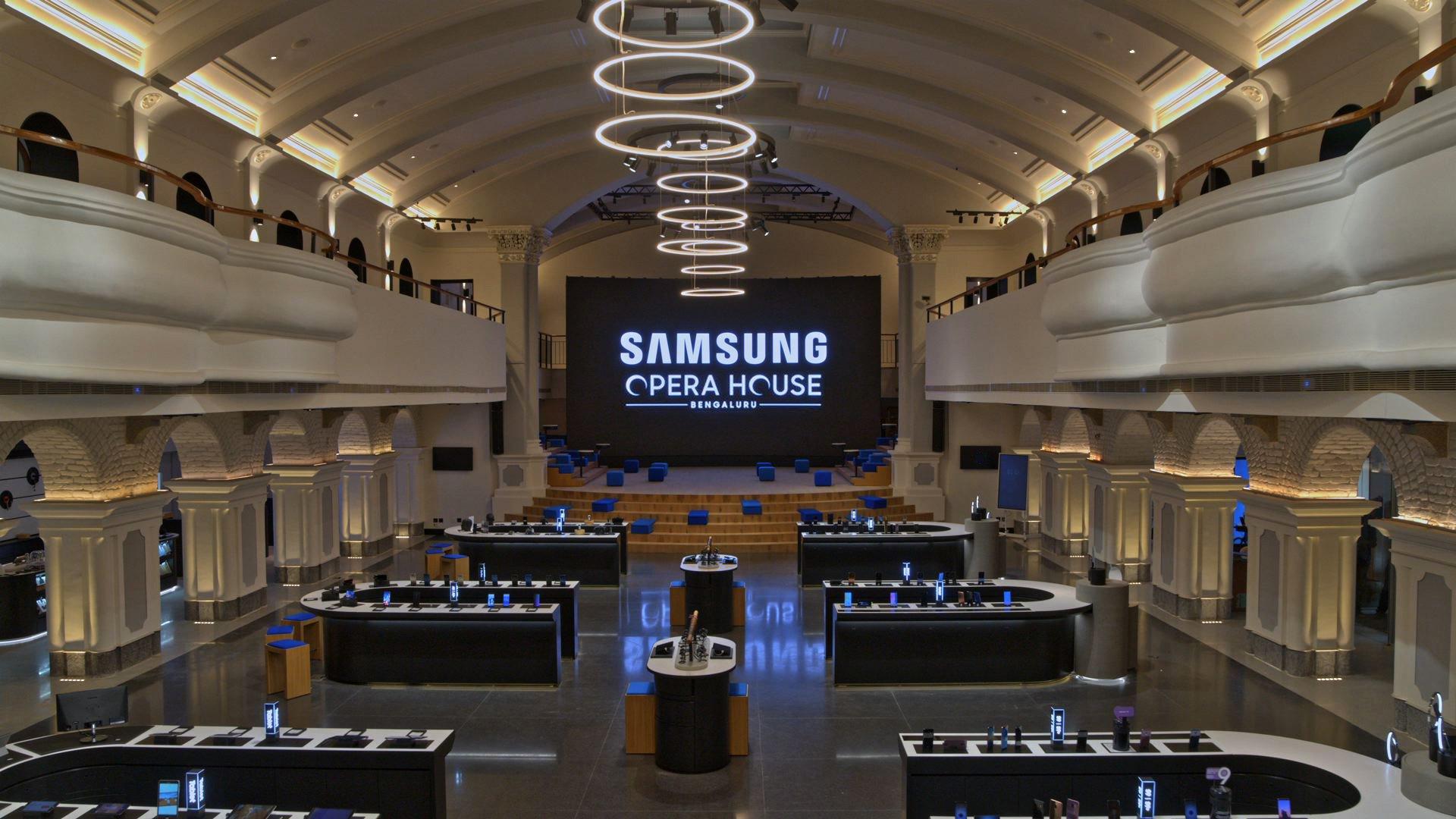 Tabletowo.pl Samsung ma rozmach - otworzył największy na świecie sklep-centrum w budynku, w którym kiedyś była... opera Ciekawostki Samsung
