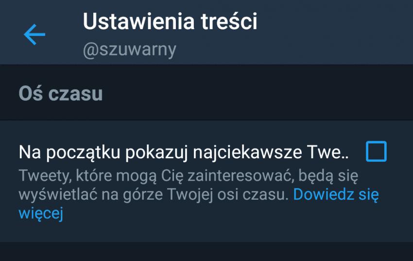 Tabletowo.pl Świetne wieści dla użytkowników oficjalnej aplikacji Twittera! Powróci w niej czysto chronologiczne wyświetlanie tweetów Aplikacje Social Media Zapowiedzi