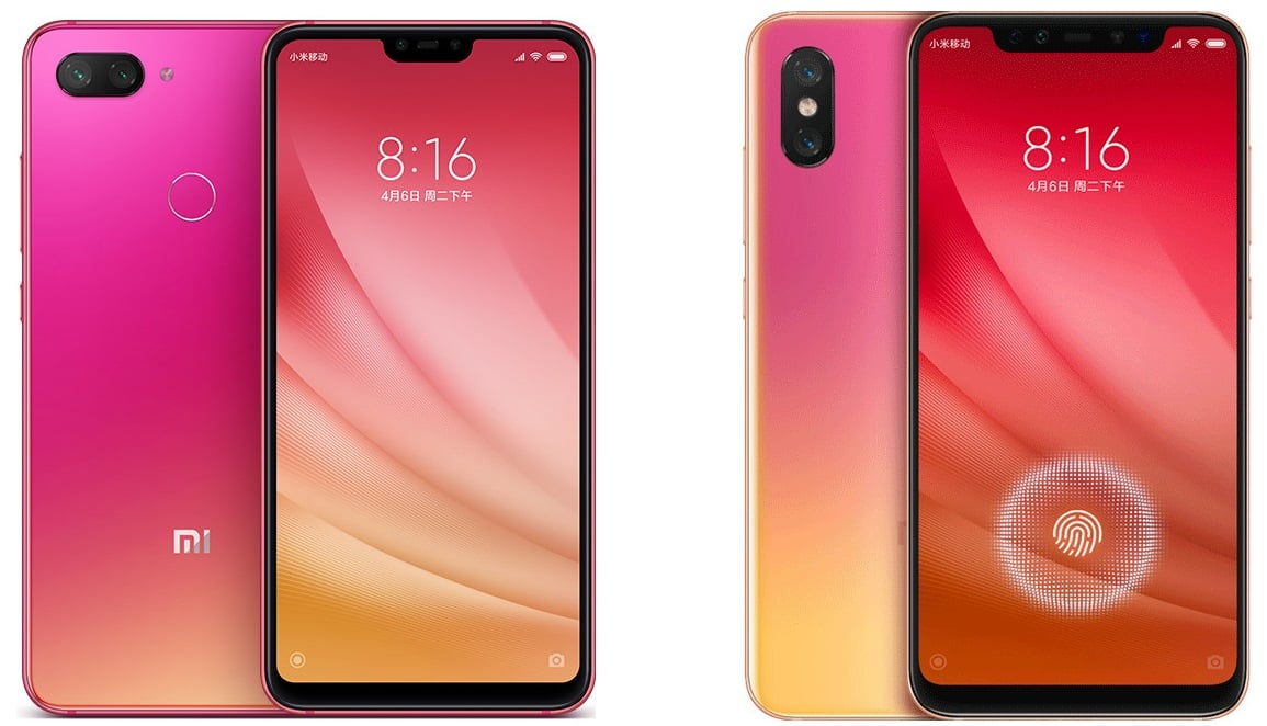 Choose your pink fighter. Xiaomi prezentuje nowe odmiany modelu Mi 8: Lite i Pro 19