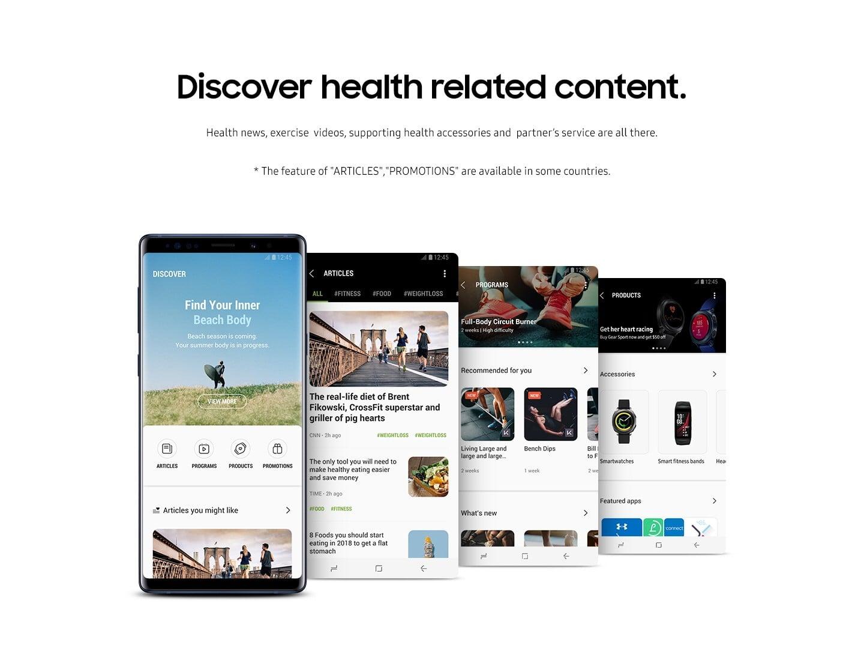 Tabletowo.pl Aplikacja Samsung Health zaktualizowana do wersji 6.0. Co nowego? Trochę tego jest Aktualizacje Aplikacje Samsung