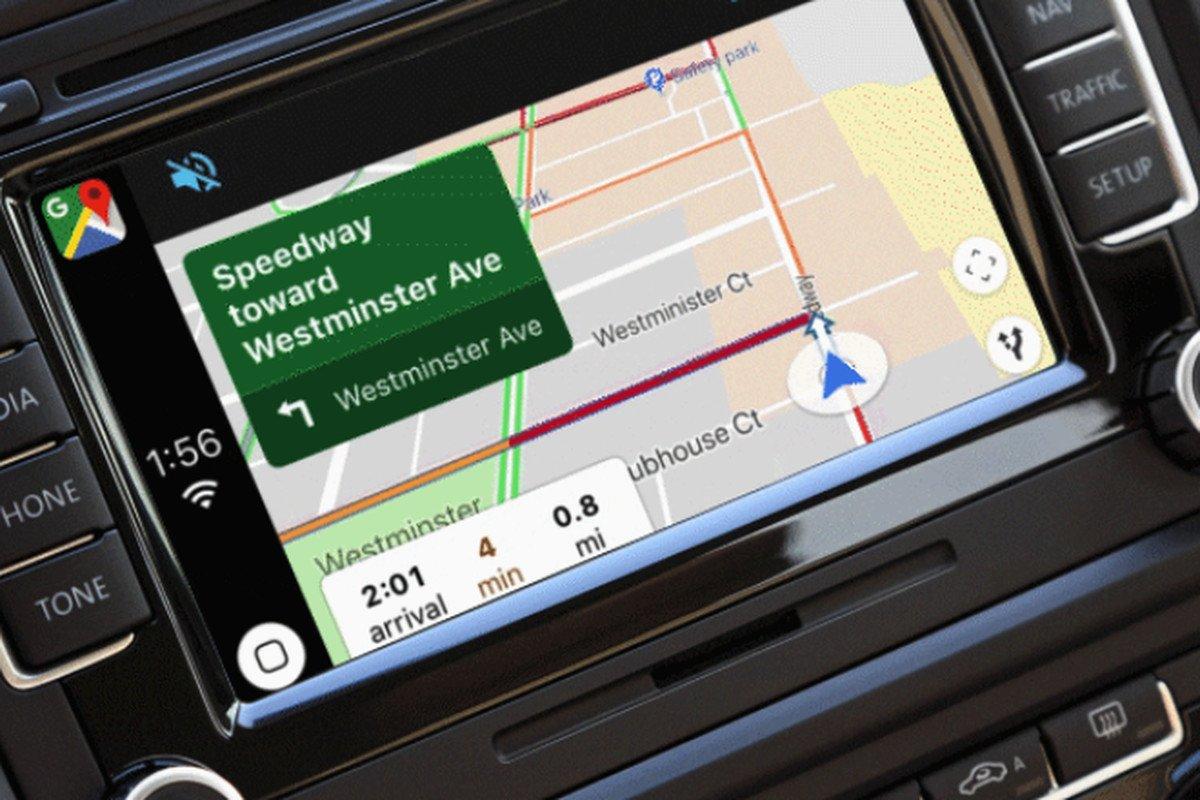 Nareszcie! Mapy Google są już dostępne w Apple CarPlay