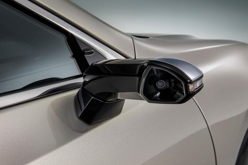 Tabletowo.pl Lexus ES z kamerami... zamiast lusterek Moto Nowości