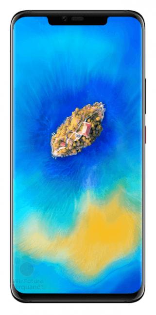 Tabletowo.pl Huawei Mate 20 Pro na oficjalnych renderach. Potrójny aparat i notch potwierdzone Android Huawei Plotki / Przecieki Smartfony