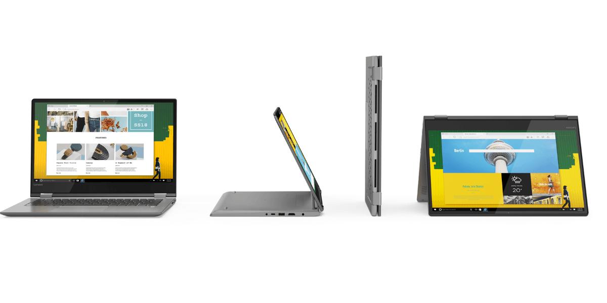 Lenovo Yoga 530 - laptop, którego weźmiesz na cztery sposoby już w sklepach 30