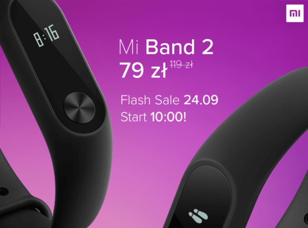 Tabletowo.pl Za opaskę Mi Band 2 w autoryzowanym sklepie Xiaomi zapłacicie w poniedziałek tylko 79 złotych Promocje Wearable Xiaomi