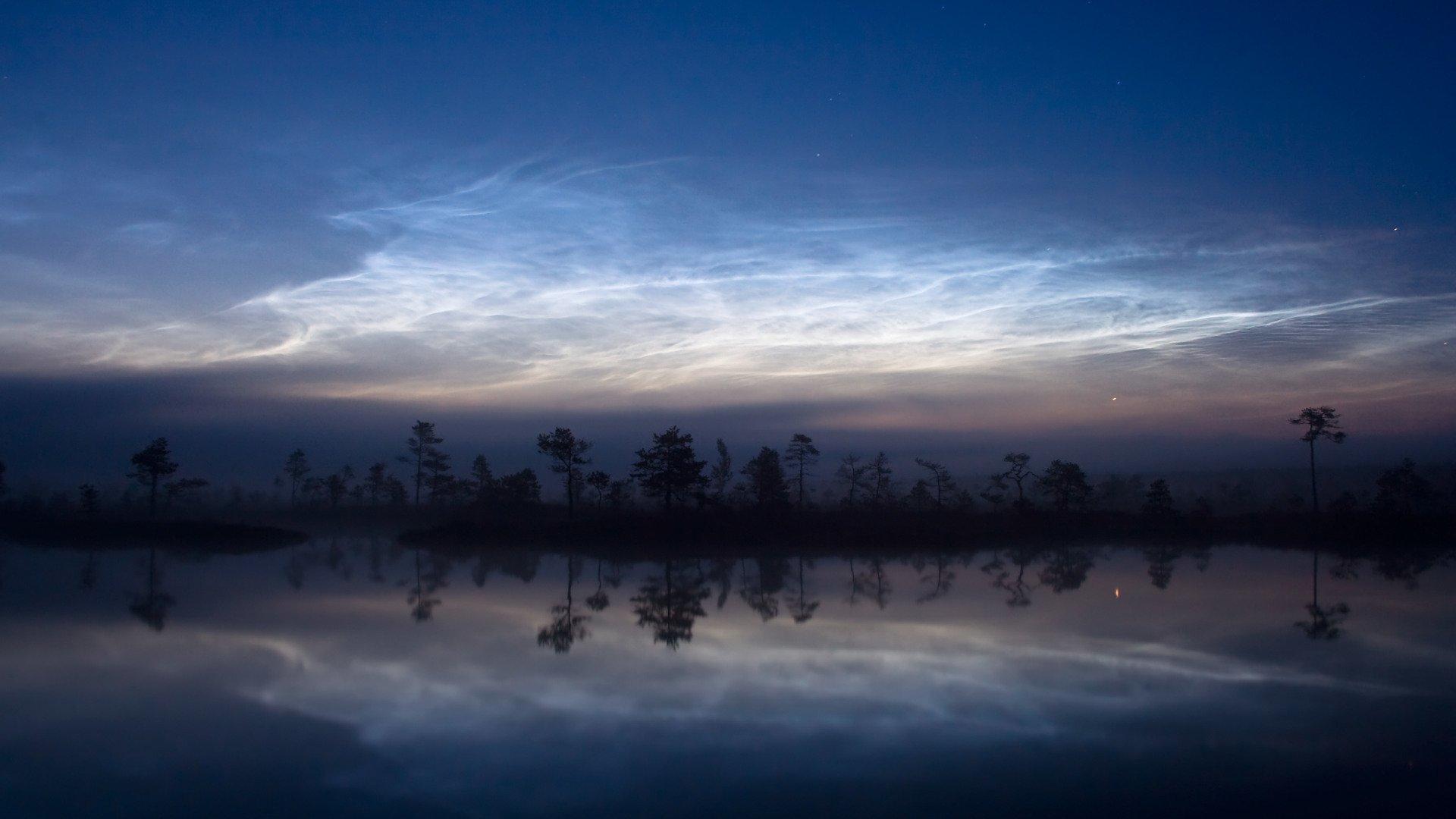 chmury w atmosferze