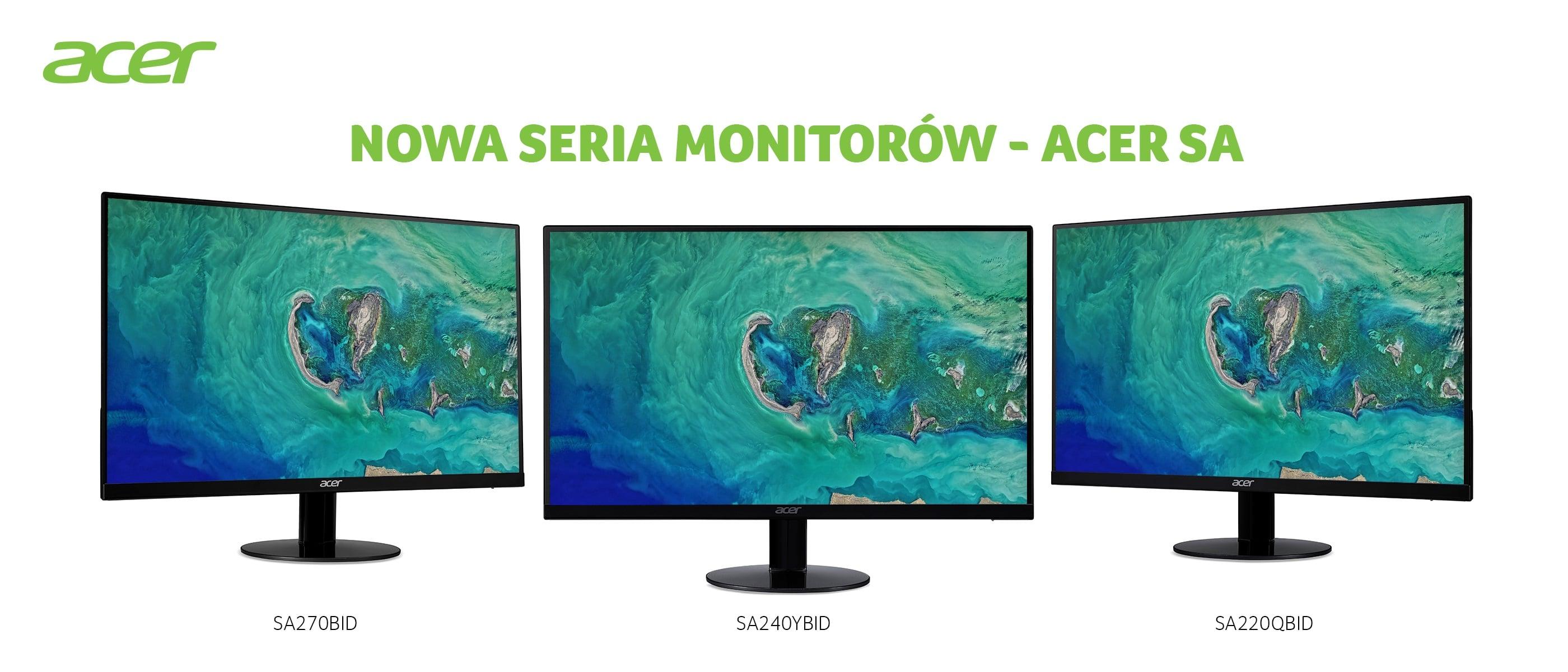 Swoimi nowymi propozycjami Acer udowadnia, że dobry monitor nie musi być bardzo drogi 23