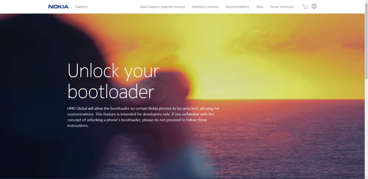 Tabletowo.pl Możesz już odblokować bootloader w swojej Nokii 8. I to nie byle jak, bo oficjalnym narzędziem Android Nokia Oprogramowanie