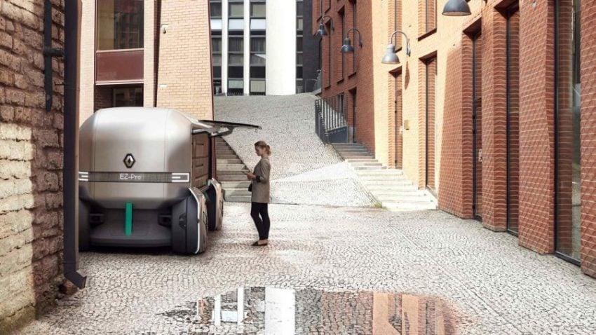Tabletowo.pl Renault EZ-PRO - kolejny przepis na dostawy przyszłości, tym razem po francusku Moto Nowości
