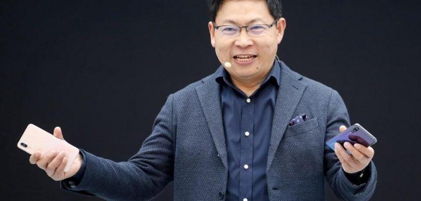 Tabletowo.pl Szef Huawei plecie trzy po trzy. Uważa, że składane smartfony mogą zastąpić komputery Huawei Smartfony