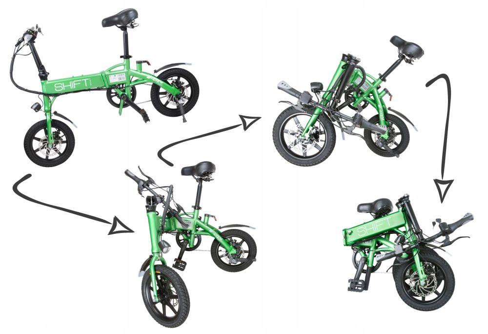 Jeśli nie chce Ci się pedałować, to wsiadaj na rower elektryczny GOCLEVER City Rider Shift