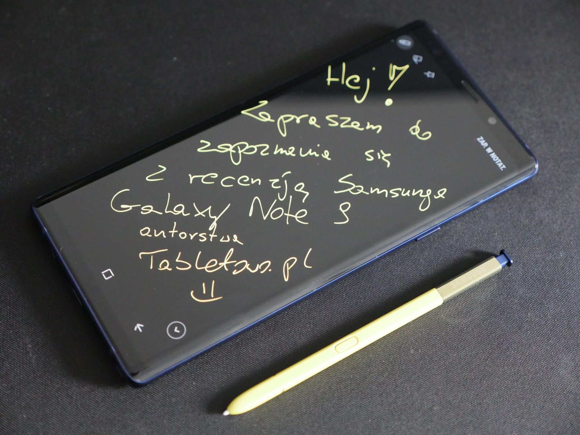 Recenzja Samsunga Galaxy Note 9. Jedni twierdzą, że nudny, inni - że prawie idealny. To jak to w końcu jest? 22
