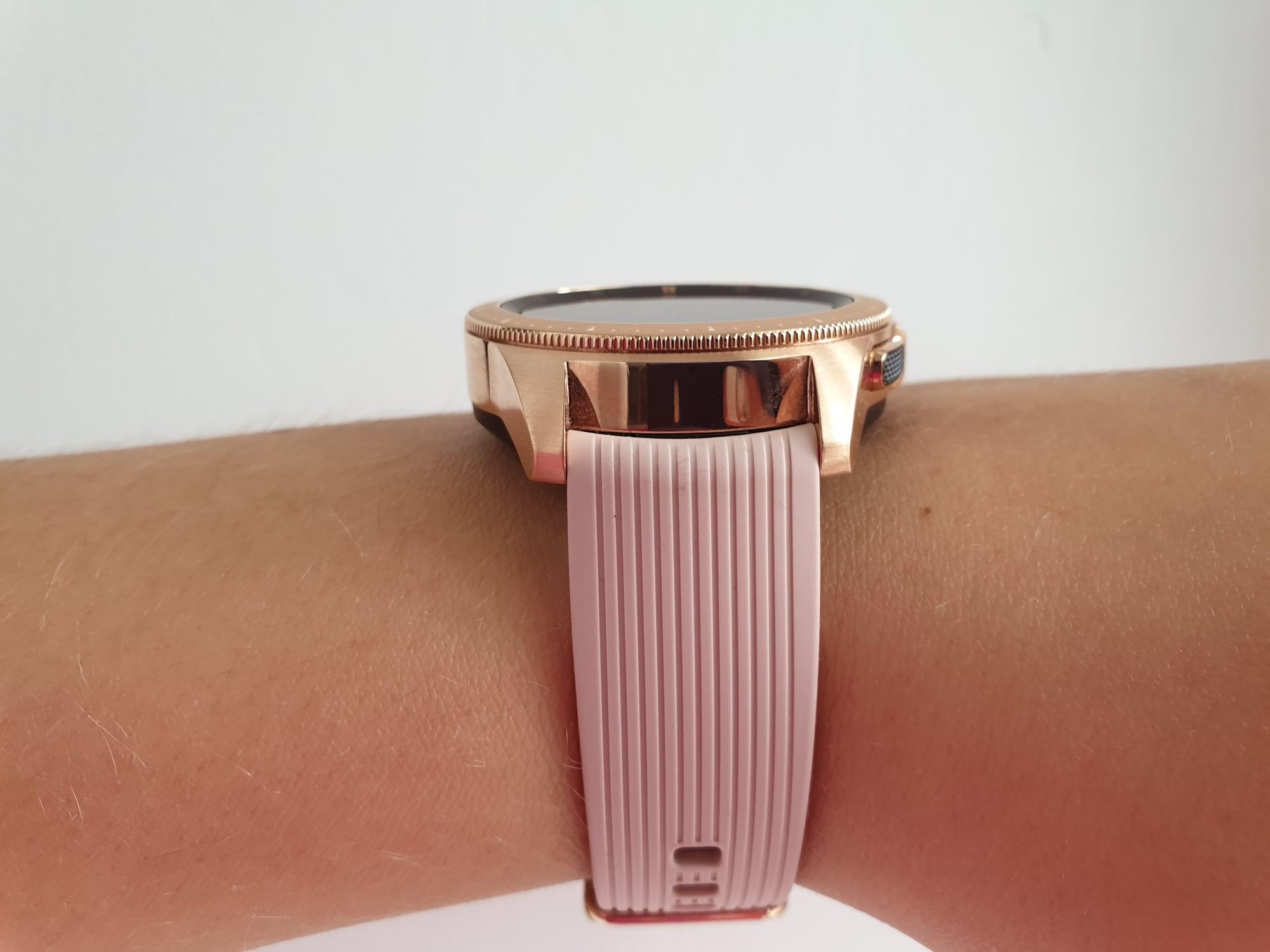 Tabletowo.pl Samsung Galaxy Watch - smartwatch, który słusznie zwraca na siebie uwagę (recenzja) Samsung Tizen Wearable