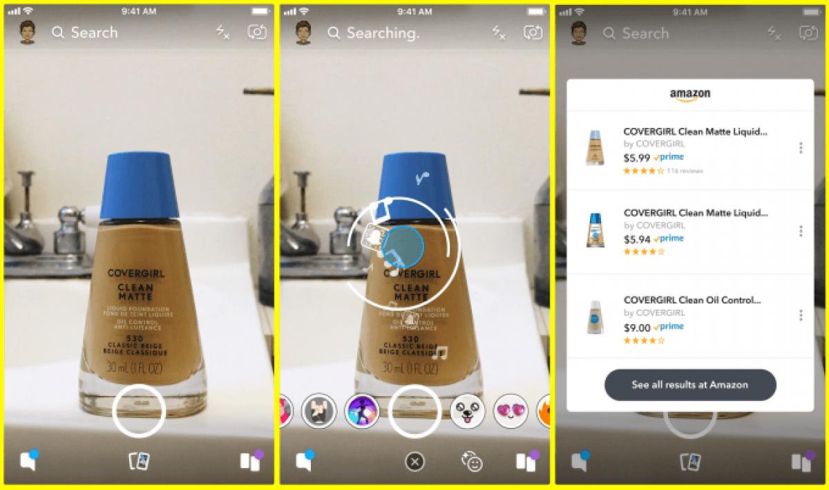 Tabletowo.pl Snapchat i Amazon łączą siły, żeby przenieść robienie zakupów na nowy poziom Aktualizacje Aplikacje Social Media