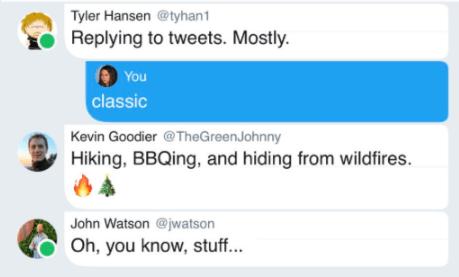 Twitter może wkrótce bardziej przypominać popularne komunikatory. Nadchodzi inna obsługa wątków i kropki statusu 18