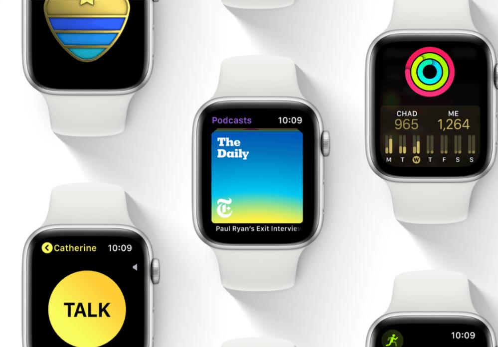 Można aktualizować już zegarki Apple Watch do watchOS 5. Oczywiście nie te, które pojawiły się jako pierwsze 21
