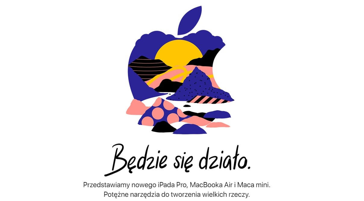 "Tabletowo.pl Tyle kosztują zaprezentowane dziś przez Apple nowości: iPady Pro 11"" i 12,9"", MacBook Air oraz Mac mini Apple iOS Tablety"
