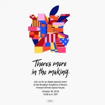 Tabletowo.pl Kolejne nowości Apple zobaczymy 30 października. Koncern właśnie zapowiedział swoją konferencję Apple