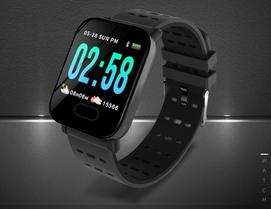 Tabletowo.pl Wygląda bardzo przeciętnie, ale może być naprawdę ciekawym smartwatchem. Zwłaszcza w takiej cenie Chińskie Promocje Wearable