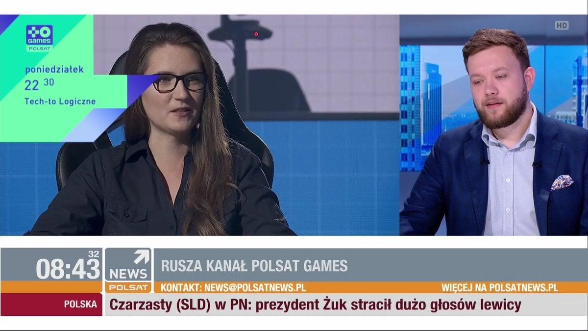 Wystartował nowy kanał - Polsat Games. W jednym z programów gościnnie będzie występować nasza Kasia 21