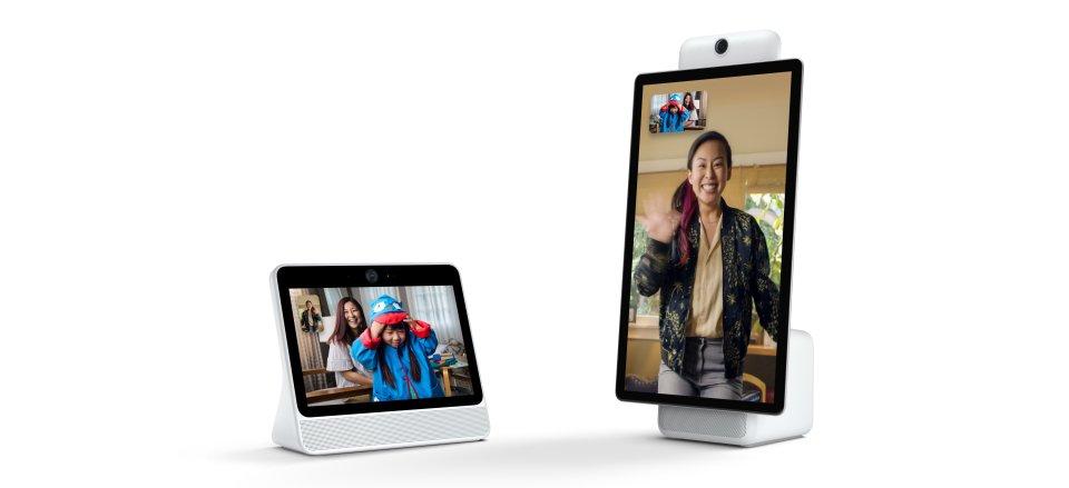 Tabletowo.pl Facebook wchodzi w segment Smart Home - oto dwa inteligentne ekrany do rozmawiania przez Messengera Facebook Nowości Smart Home