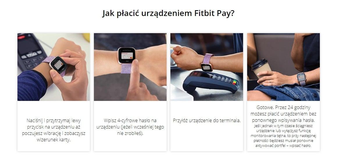 Tabletowo.pl Płatności mobilne Fitbit Pay dostępne w Santander Bank Polska. Jak dodać kartę i jak płacić zegarkiem? Nowości