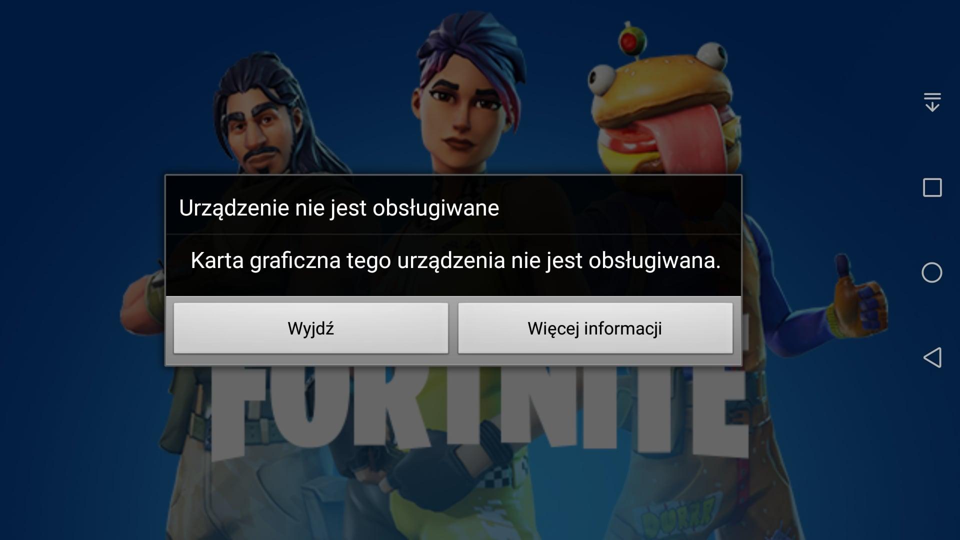Tabletowo.pl Fortnite Beta na Androida od teraz dostępna dla wszystkich... obsługiwanych smartfonów i tabletów Android Gry Nowości Smartfony Tablety