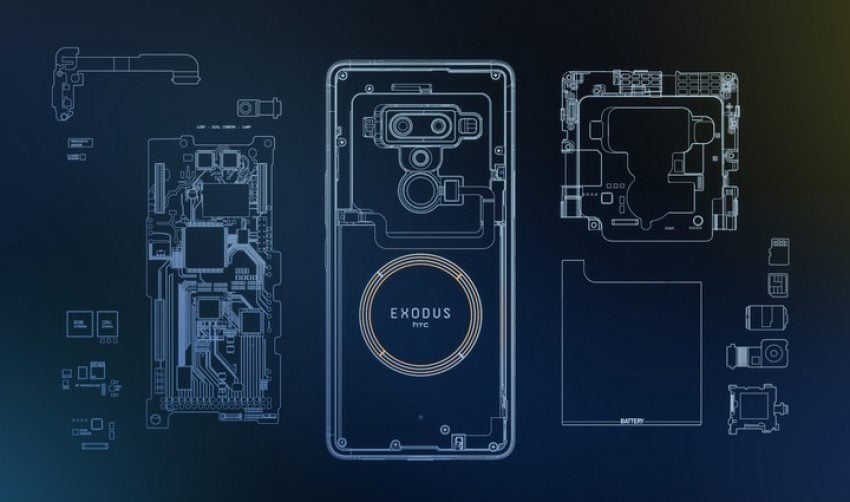 Tabletowo.pl Premiera HTC Exodus 1 - smartfona zrodzonego z idei blockchain, idealnego dla posiadaczy kryptowalut HTC Nowości Smartfony