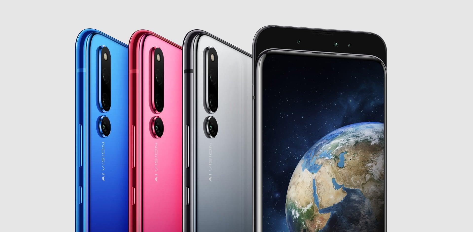 Tabletowo.pl Honor Magic 2 oficjalnie - slider z sześcioma aparatami, asystentem YOYO i czytnikiem linii papilarnych w ekranie Android Huawei Nowości Smartfony