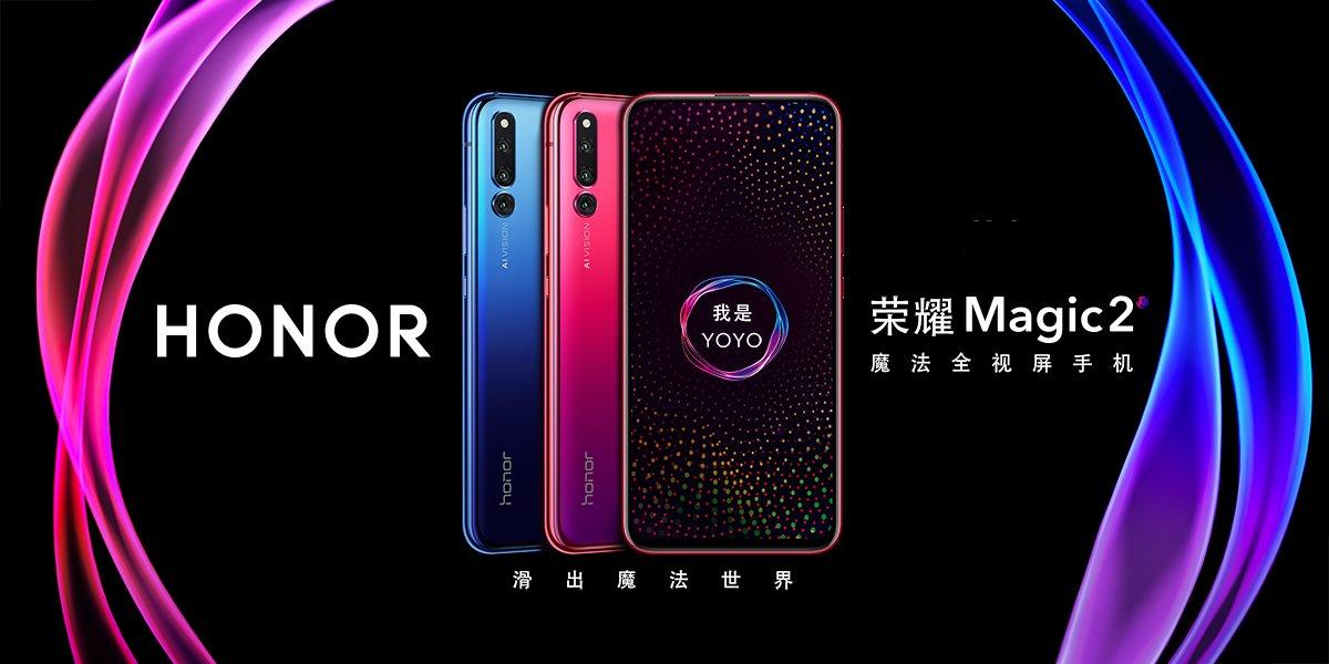 Honor Magic 2 oficjalnie - slider z sześcioma aparatami, asystentem YOYO i czytnikiem linii papilarnych w ekranie 21