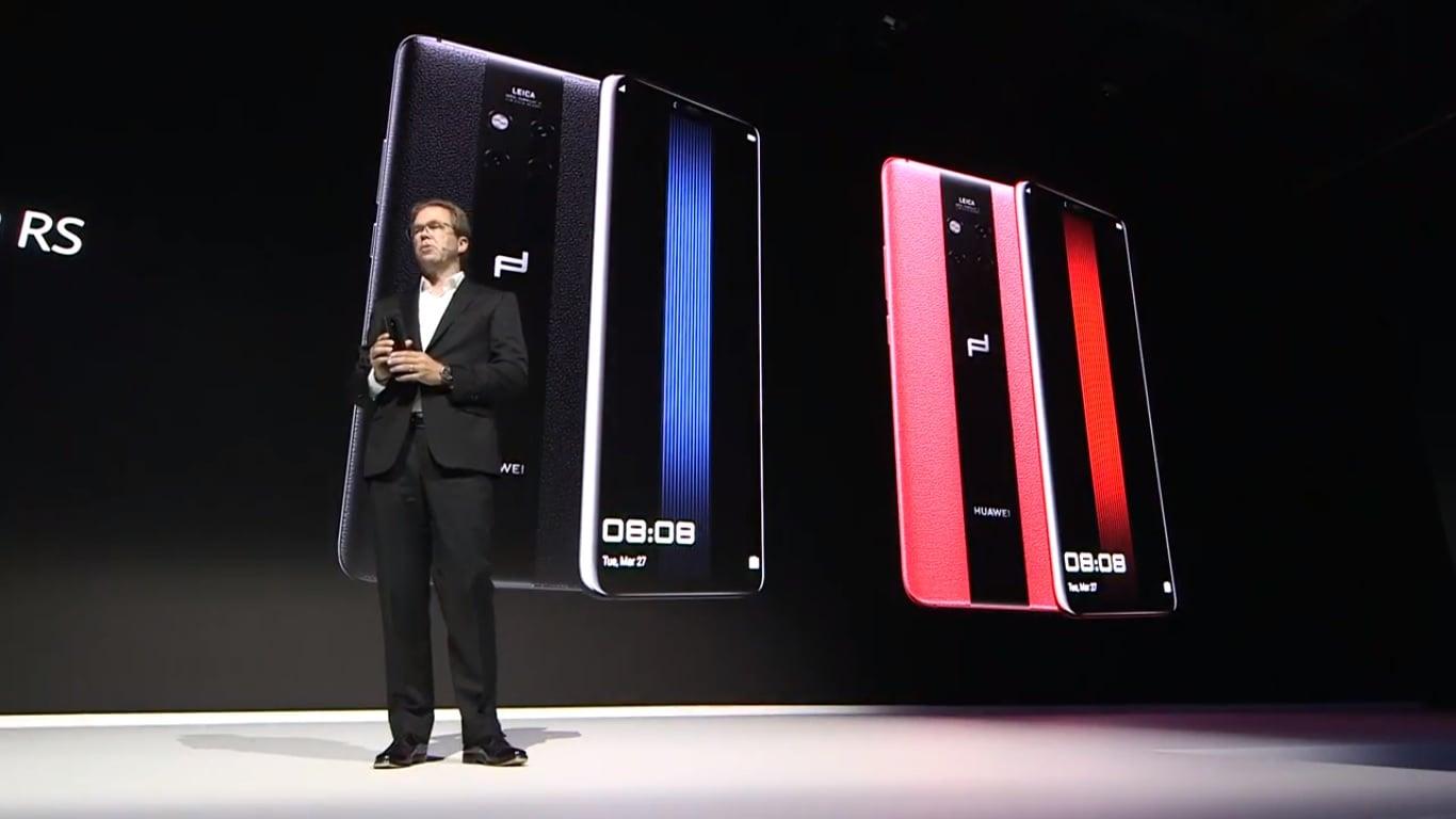 Tabletowo.pl Współpraca Huawei i Porsche trwa w najlepsze - oto jej najnowszy owoc, Huawei Mate 20 RS Android Huawei Nowości Smartfony