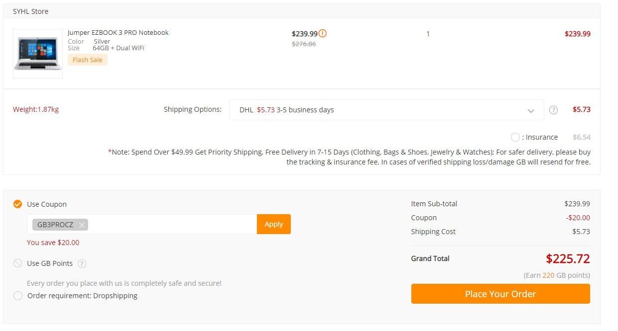 Promocja: laptop Jumper EZBOOK 3 Pro z 6 GB RAM za ~850 złotych! 21
