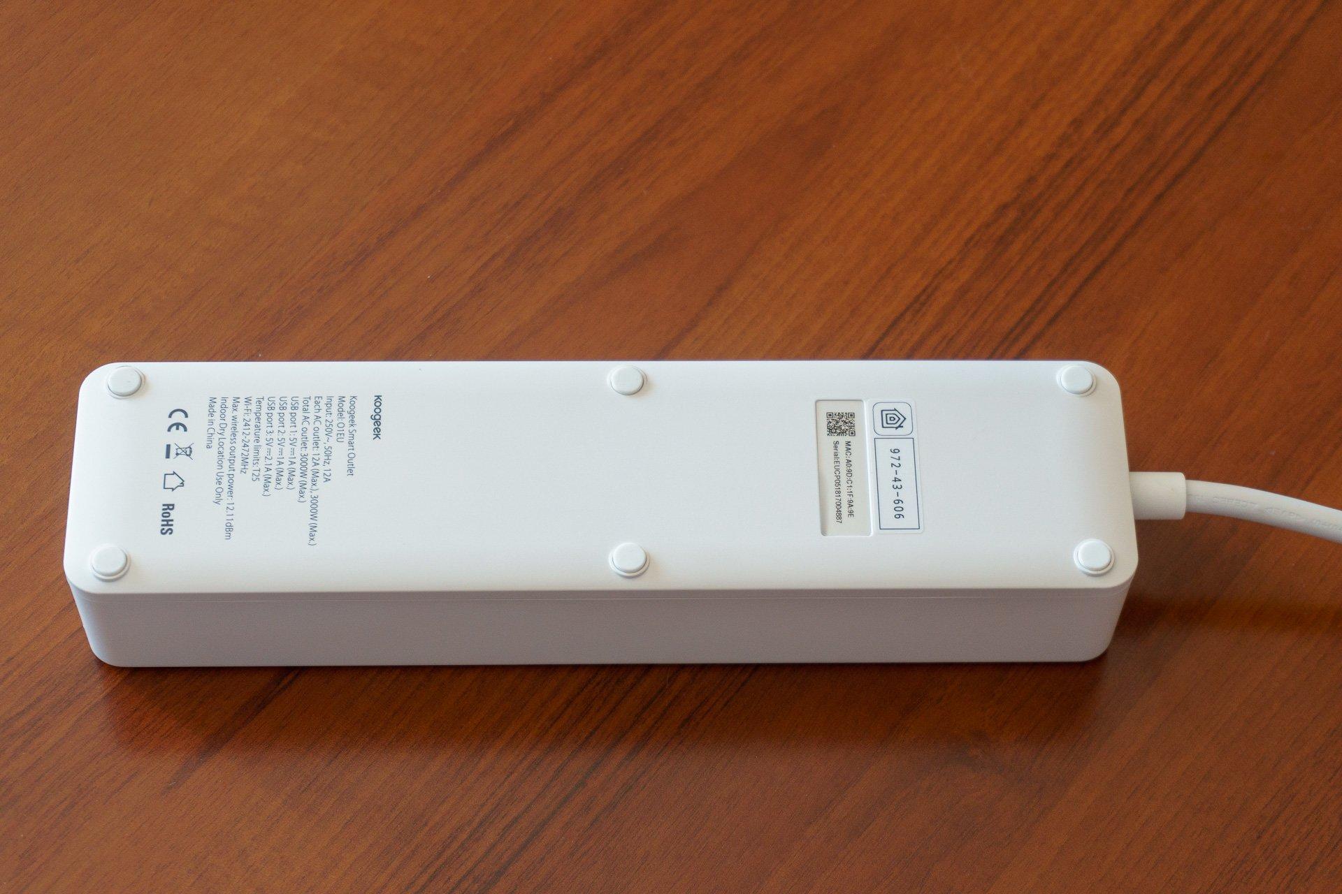 Tabletowo.pl Inteligentna listwa zasilająca Koogeek O1EU Smart Outlet - nie krzyczcie na Siri (recenzja) Akcesoria Recenzje