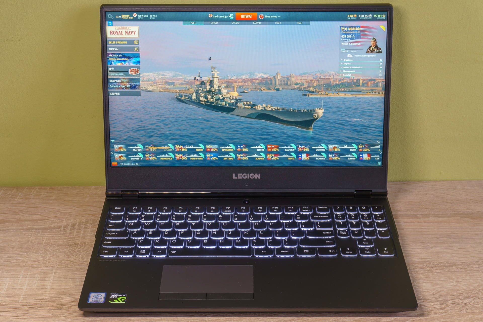 Tabletowo.pl Recenzja Lenovo Legion Y530-15ICH - mocny brzydal :) Laptopy Lenovo Recenzje Windows