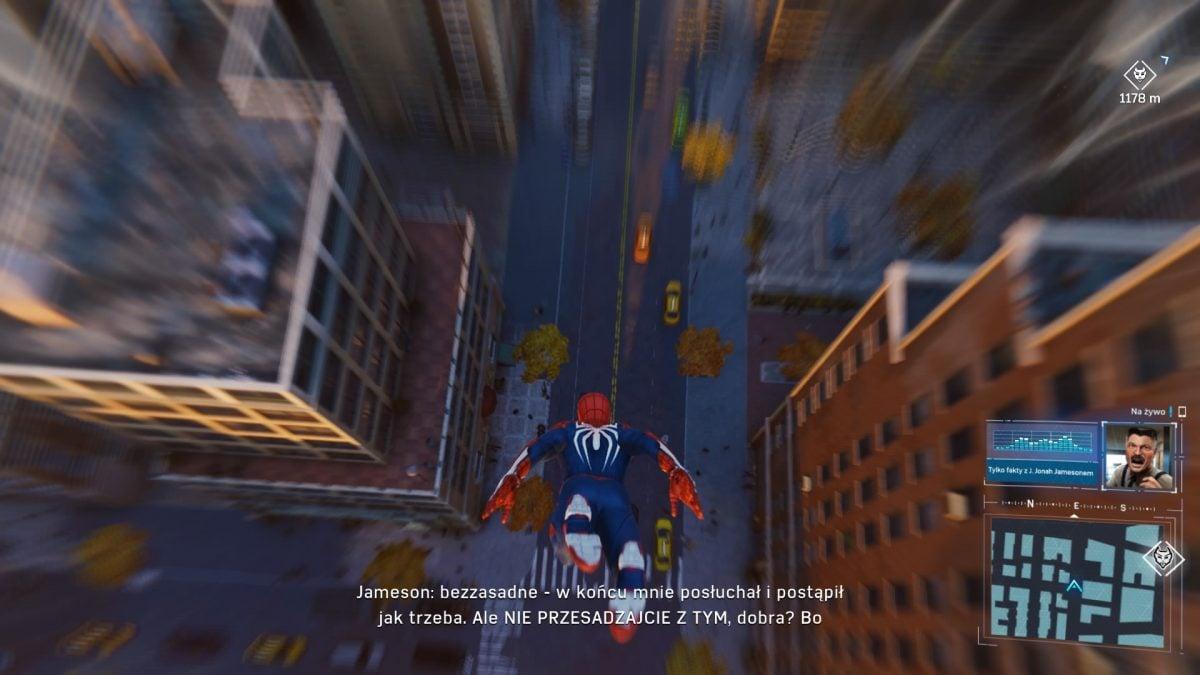 Człowiek-Pająk w najlepszym możliwym wydaniu! Recenzja gry Marvel's Spider-Man