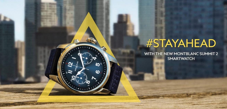 Tabletowo.pl Montblanc Summit 2 to pierwszy na rynku smartwatch z nowym procesorem Qualcomm Snapdragon Wear 3100 Android Nowości Wearable