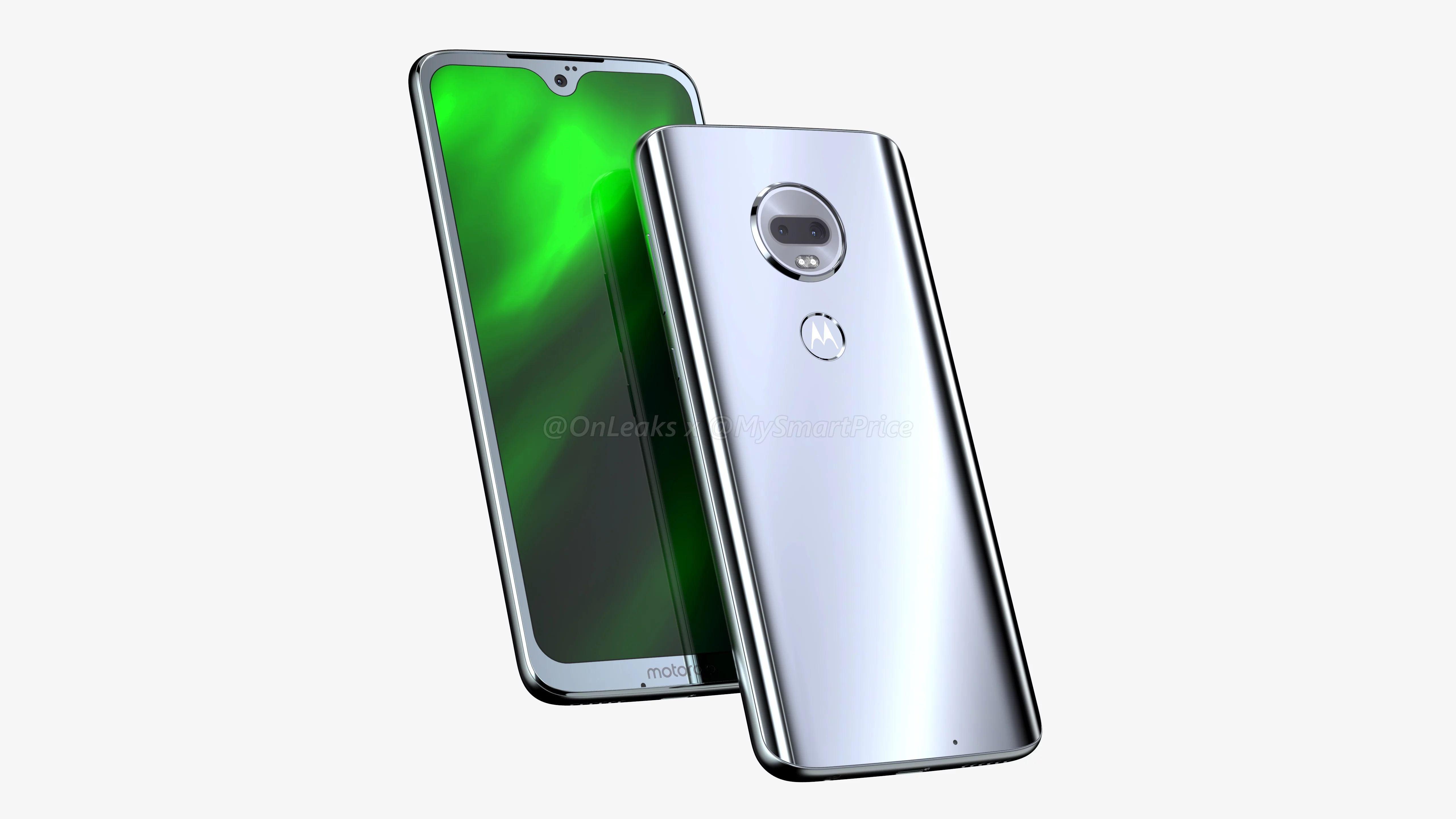 Tabletowo.pl Na tym renderze Motorola Moto G7 wygląda lepiej, ale i tak mi się nie podoba. Piękna będzie jednak w... środku Android Lenovo Motorola Plotki / Przecieki Smartfony