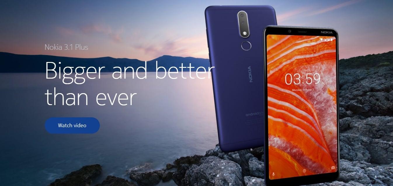 """Tabletowo.pl Jaka jest nowa Nokia 3.1 Plus? """"Większa i lepsza niż kiedykolwiek"""" Android Nokia Nowości Smartfony"""