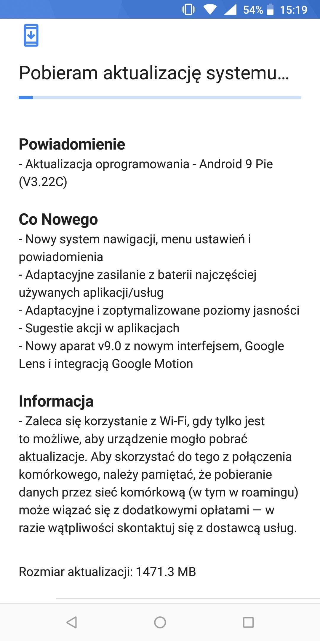 Tabletowo.pl Aktualizacja do Androida 9.0 Pie już dostępna dla użytkowników Nokii 7 Plus w Polsce Aktualizacje Android Nokia Smartfony