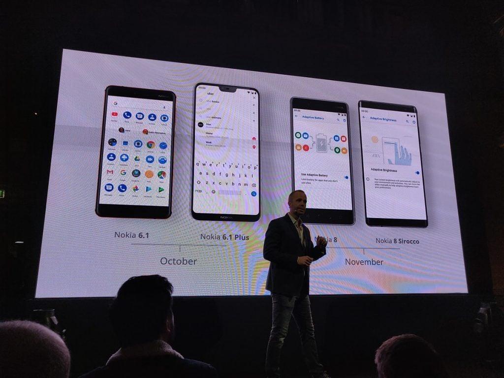Tabletowo.pl Pozytywne wieści od Nokii: cztery smartfony dostaną Androida Pie w najbliższych tygodniach Aktualizacje Android Ciekawostki Nokia Smartfony