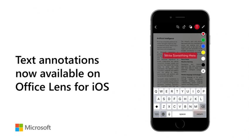 Tabletowo.pl Microsoft ogłasza wprowadzenie nowych funkcji do aplikacji Office Lens na Androidzie i iOS Aktualizacje Aplikacje Microsoft